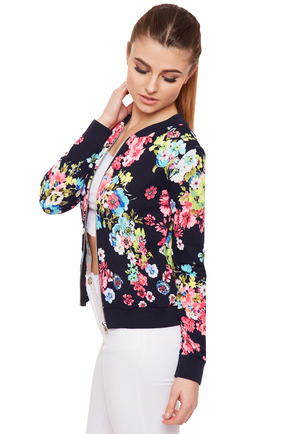 Our women's cheap floral jackets can bring a lot of heart and humor to a casual outfit. All our floral jackets are top quality but at low price.