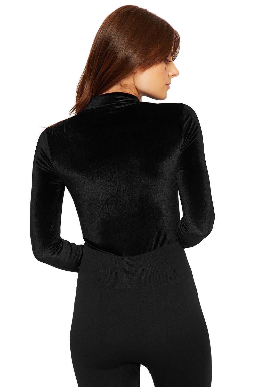 femmes velour body dames tortue lev cou longue manche collant haut ebay. Black Bedroom Furniture Sets. Home Design Ideas