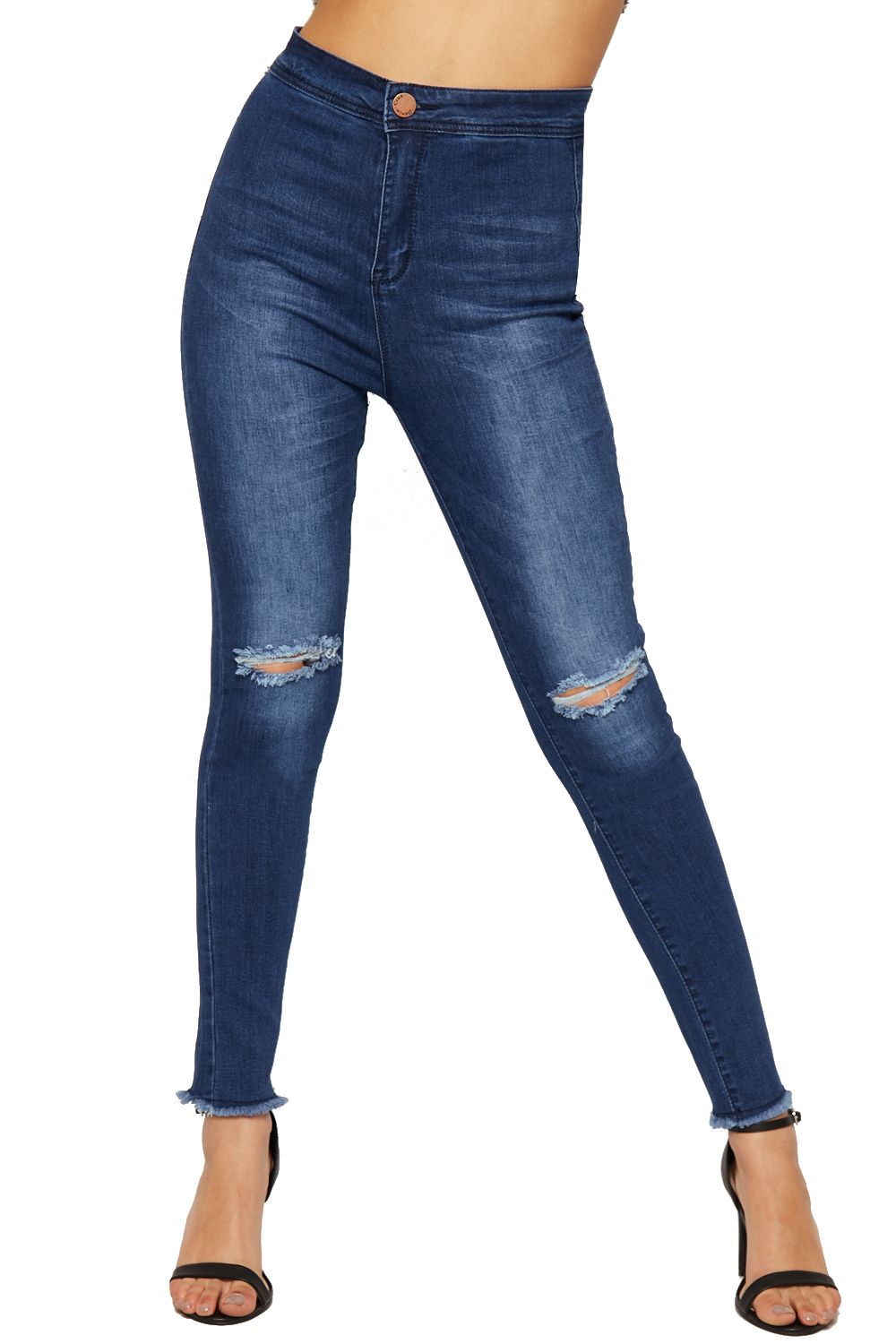 Show off your unique style in hip and affordable ripped jeans from Old Navy. Distressed Women's Jeans with Youthful Appeal. Distressed jeans are totally in. From slimming skinnies with holes at the knee to frayed boyfriends that fit just right, Old Navy has the distressed women's jeans you need to stay on-trend and show off your individual style.