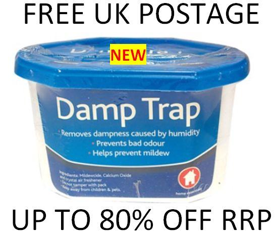Condensation Damp Trap Catcher Moisture Mould Mildew Odour