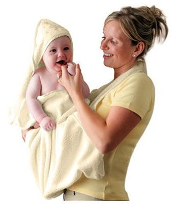 CLEVAMAMA-SPLASH-AND-WRAP-BABY-BATH-TOWEL-cuddledry-Pink-White-Cream-Blue