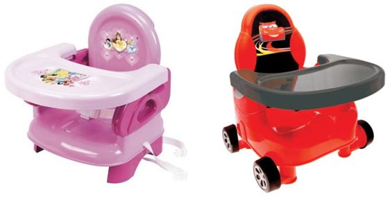 summer infant disney pretty as a princess or lil 39 speedster cars booster seat ebay. Black Bedroom Furniture Sets. Home Design Ideas