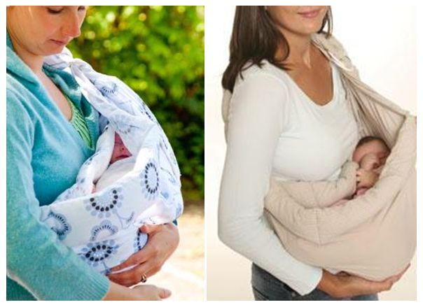 BABY-SENSE-SLING-Front-Baby-Carrier-Papoose-TRAIL-PRINT-or-STONE-Blue-FREE-P-P