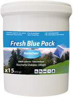 Monochem Fresh Blue Sachets 15 Sachets of Toilet Chemical for Caravans & Boats