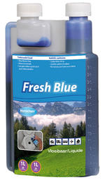 Monochem Fresh Blue Toilet Fluid 1L Concentrated Toilet Chemical 25 Dose Bottle
