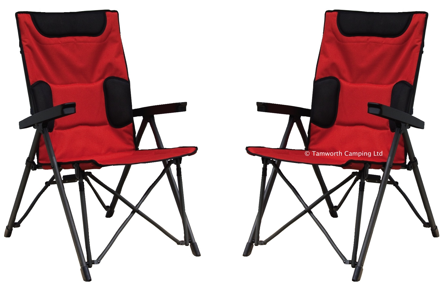 2 Quest Jupiter Folding 6 Position Big Boy Camping Chair