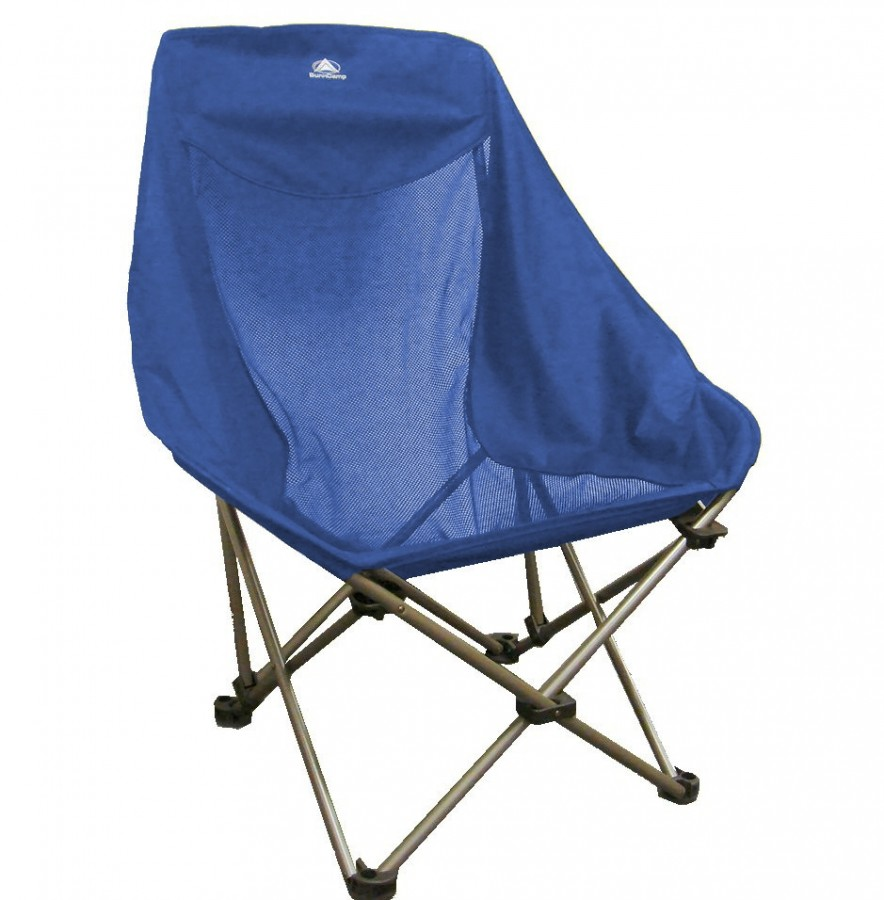 Sunncamp Deluxe Steel Heavy Duty Folding Camping Bucket Chair Max Load 100kg