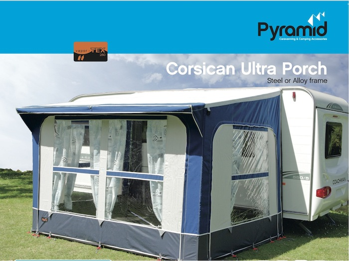 Pyramid Corsican Ultra Porch Awning Steel Frame Ebay