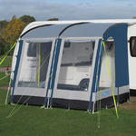 Kampa Rally 260 Lagoon Blue Caravan Porch Awning