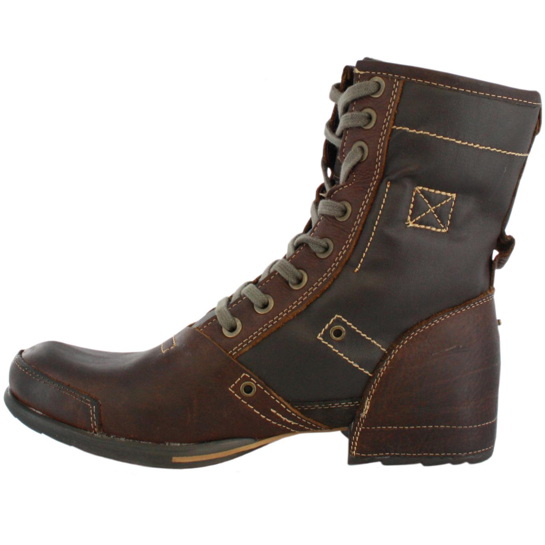 replay burtom brown mens leather boots ebay