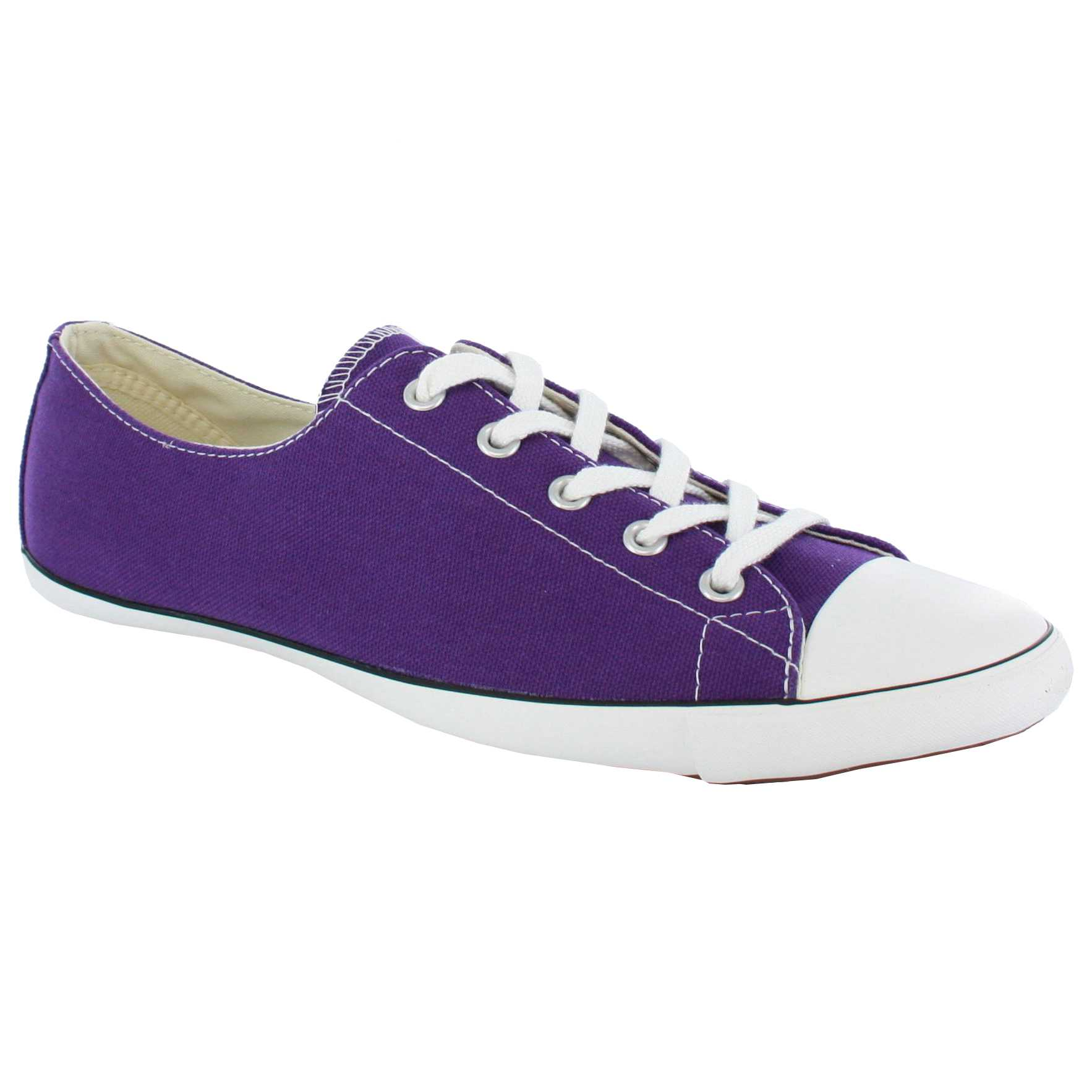 Ladies Purple Converse Shoes