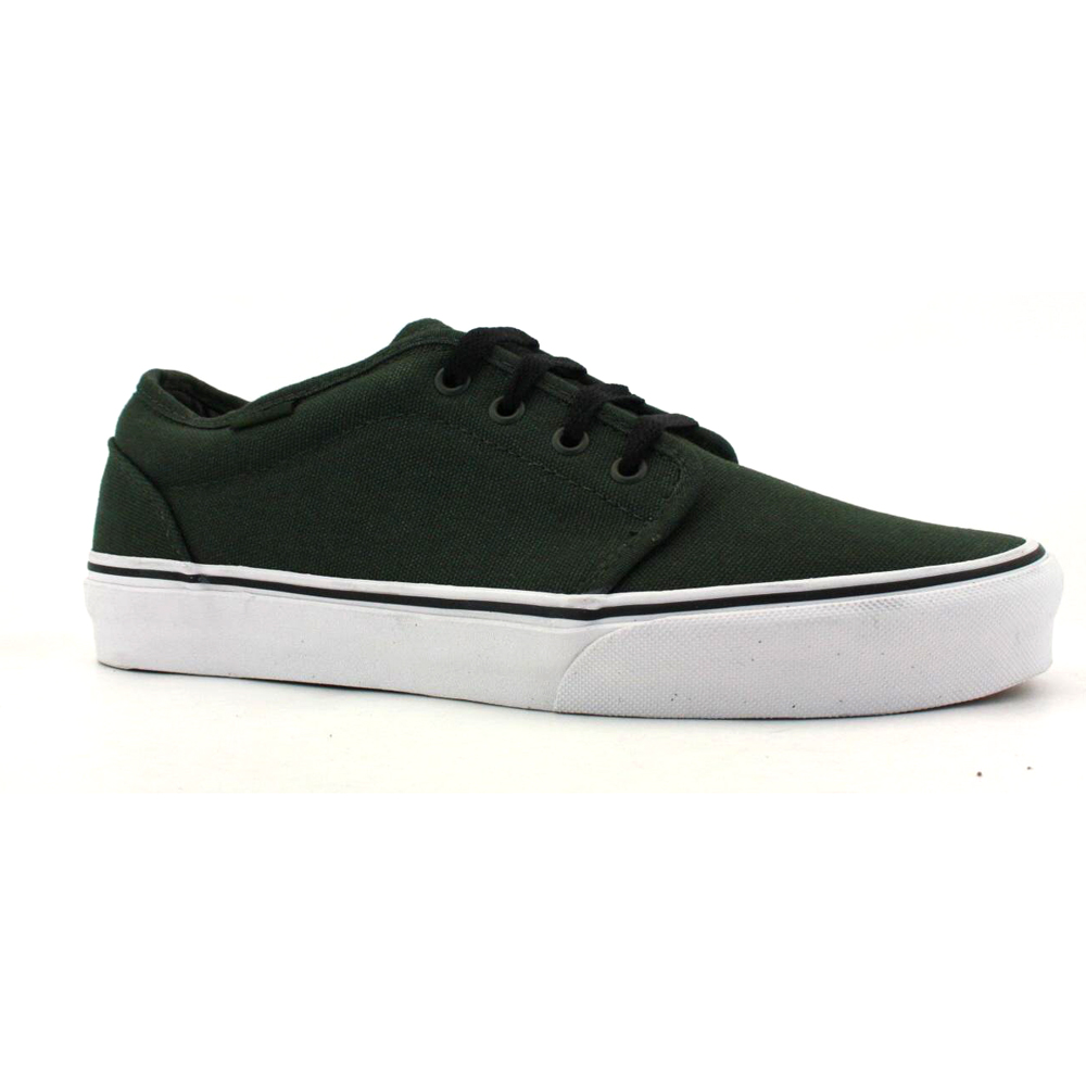 Vans 106 Vulcanized Lace Trainers Shoes Dark Green