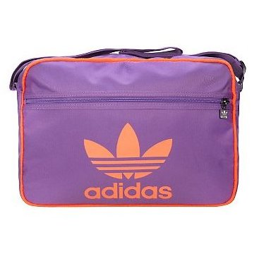 Adidas GR Airline Messenger Bag Purple Enlarged Preview