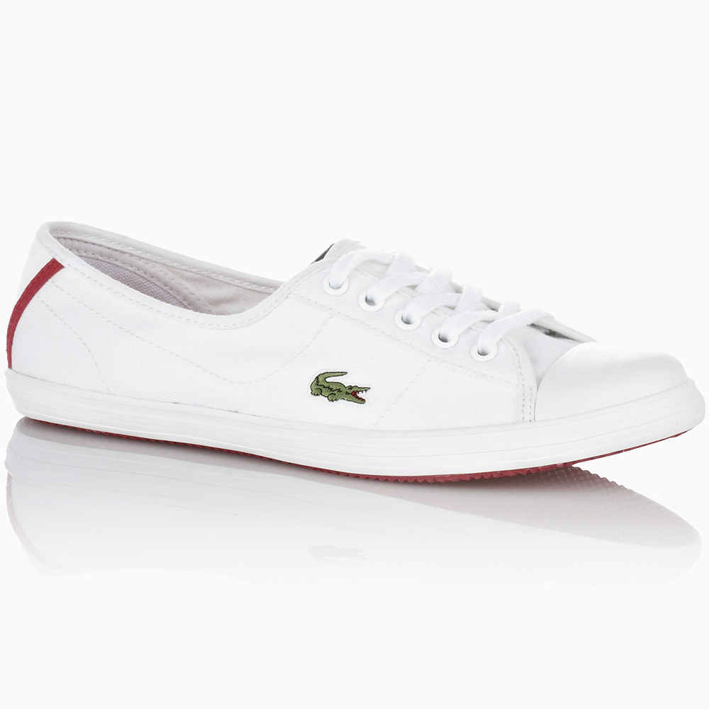 Lacoste Canvas Shoes Womens