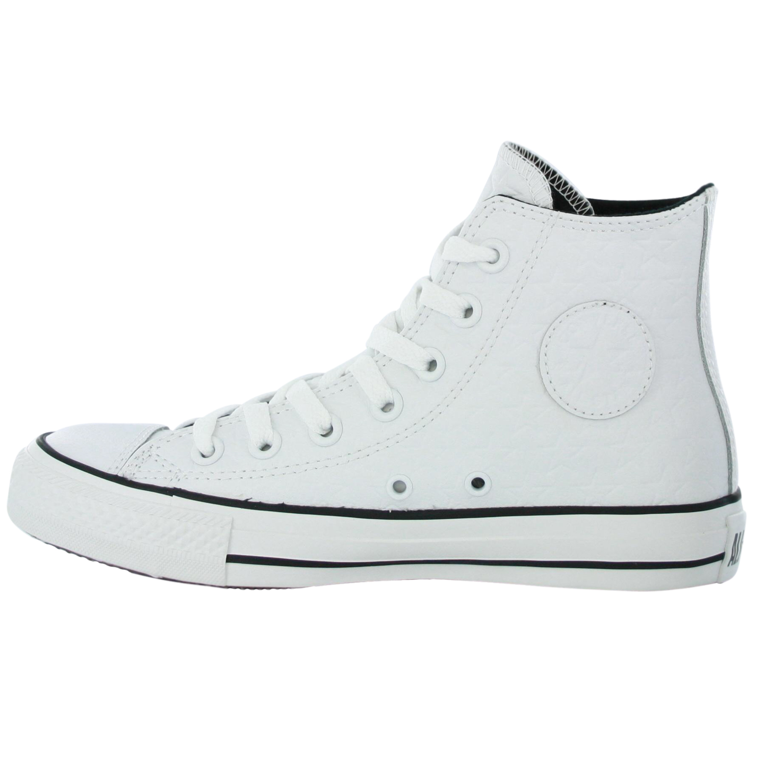converse all repeat hi white leather mens shoes ebay