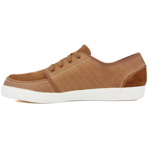 Adidas Summer Deck Tan Leather Mens New Trainers Ebay