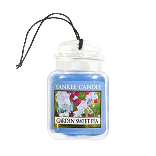 Yankee Candle Garden Sweet Pea Ultimate Car Jar Scented Candle Enlarged Preview