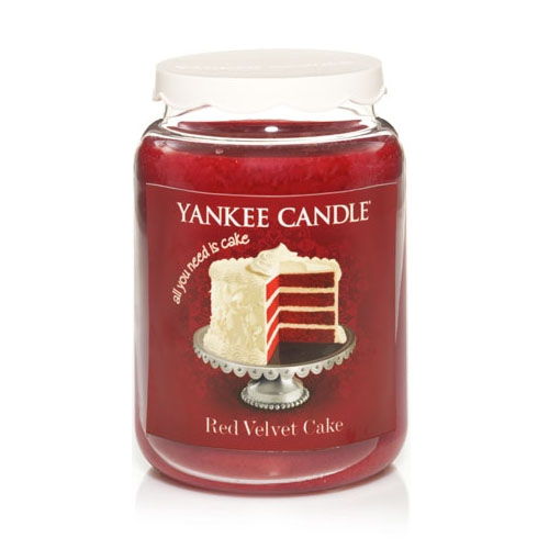 Yankee Candle Cake Images : Yankee Candle Red Velvet Cake Large Jar