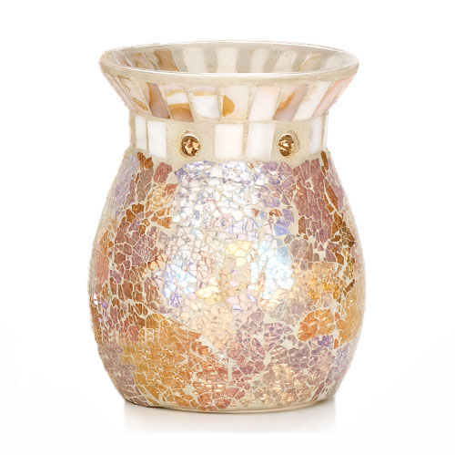 Gold and Pearl Wax Burner