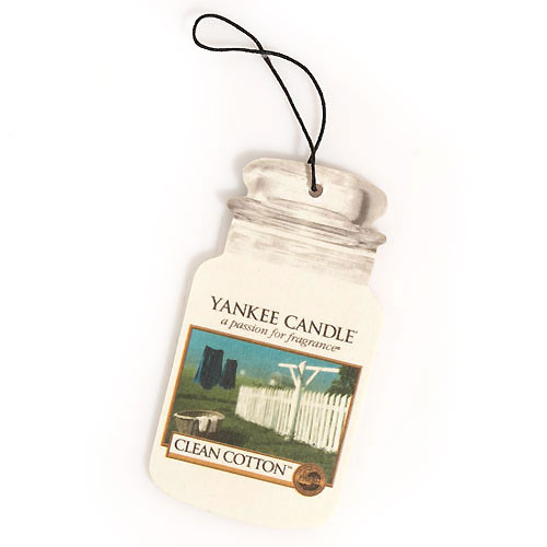 Clean Cotton Car Jar