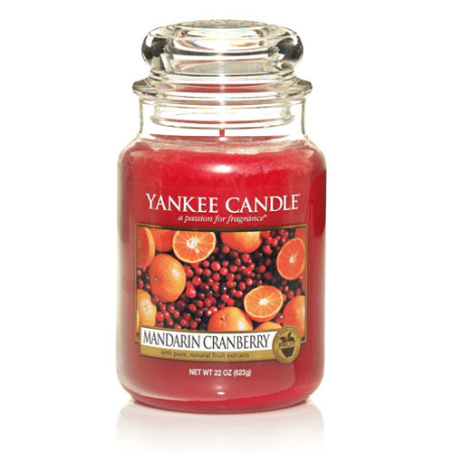 Mandarin Cranberry Large Jar