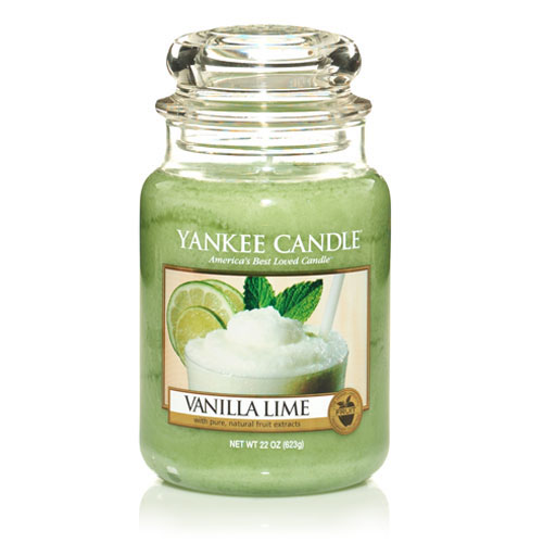 Vanilla Lime Large Jar