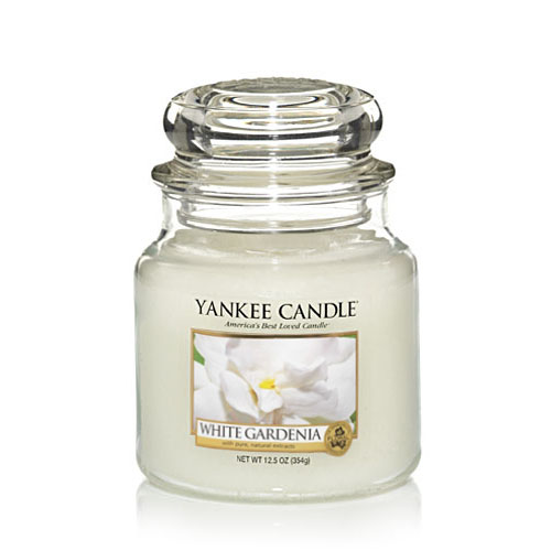 White Gardenia Medium Jar
