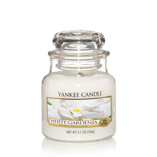 White Gardenia Small Jar