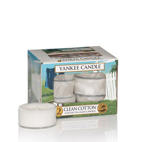 Clean Cotton Tea Lights