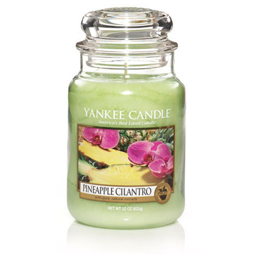 Yankee Candle Pineapple Cilantro Large Jar Scented Candle | eBay