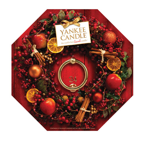 Yankee Candle 24 Tea Light Advent Calendar Ebay