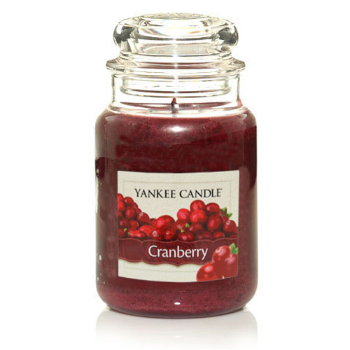 Cranberry Large Jar