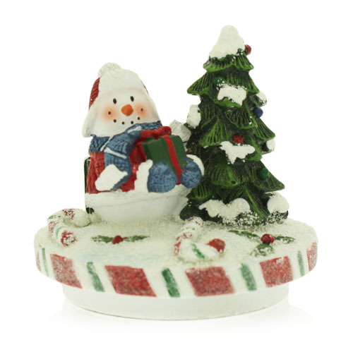 Snowman Jar Topper