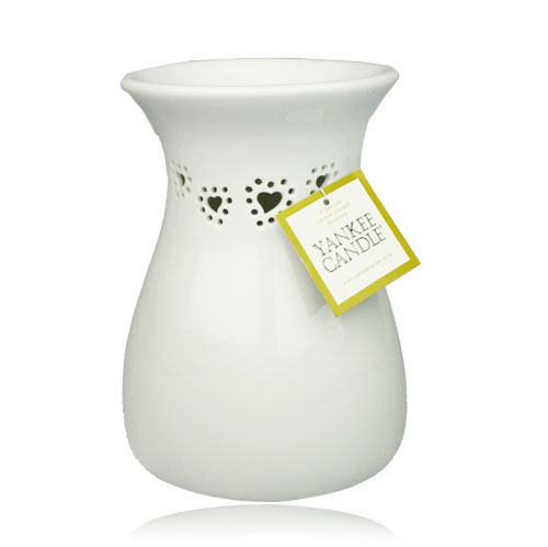 White Heart Wax Burner