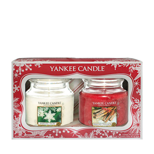2 Medium Jars Christmas Value Gift Set