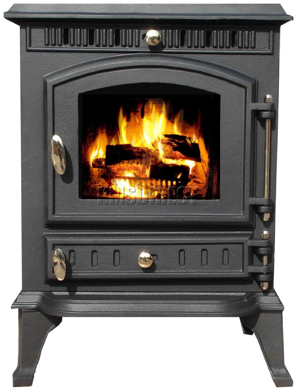 7kw Ja010 High Efficient Cast Iron Log Burner Multifuel