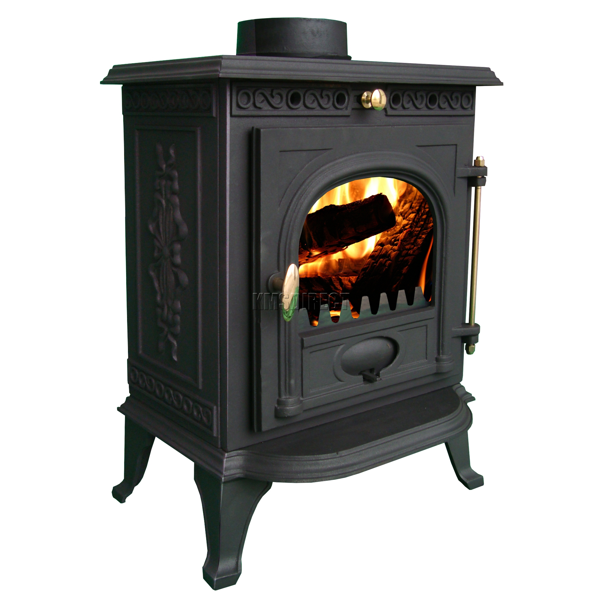 6kw Ja014 High Efficient Cast Iron Log Burner Multifuel