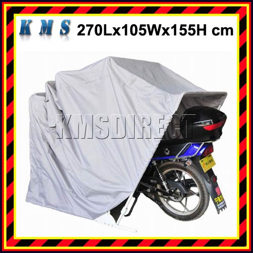 Motor bike folding cover storage shed waterproof outdoor - Motorcycle foldable garage tent cover ...