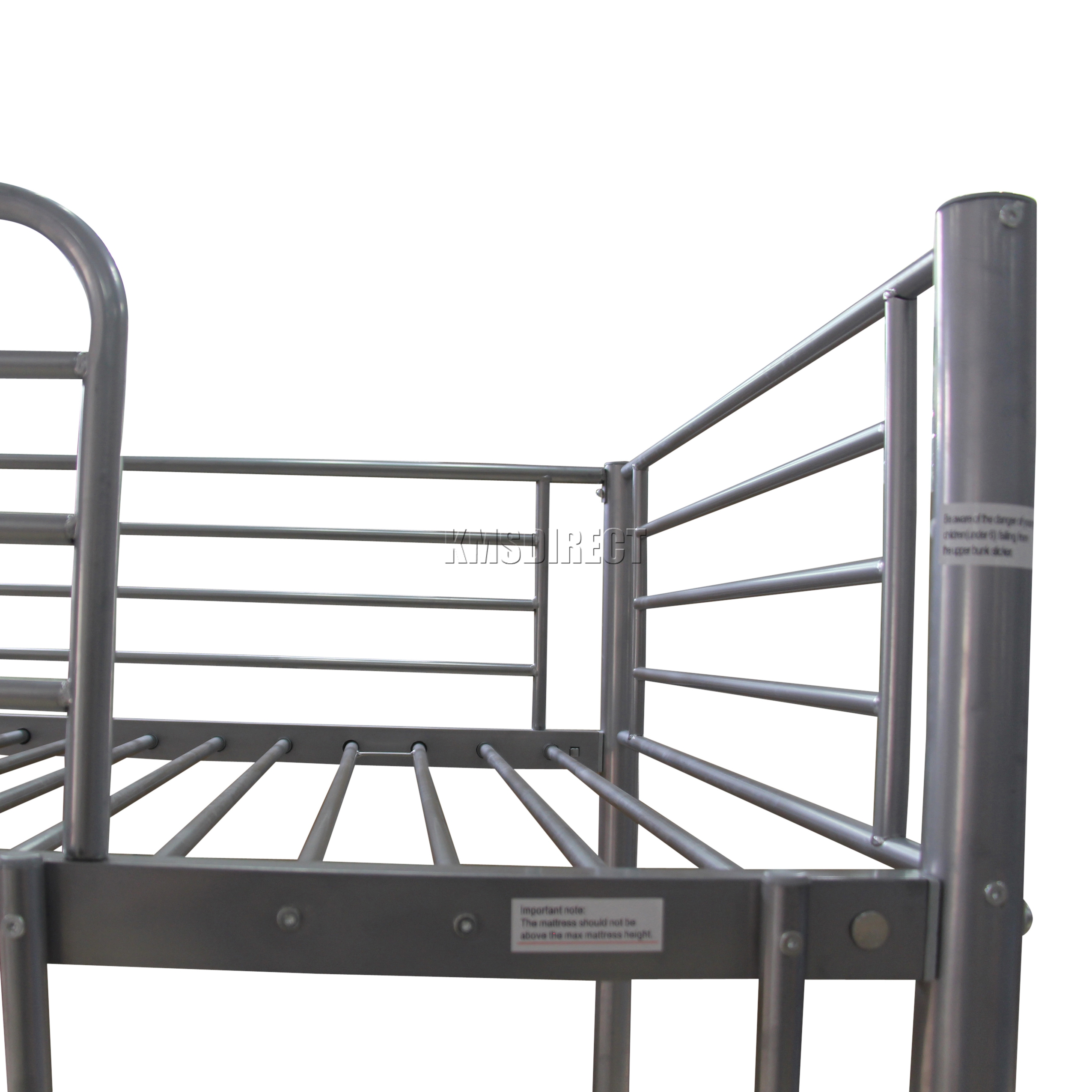 Riparo letto a castello singolo doppio triplo bambini metallo sleeper frame no materasso ebay - Letto castello metallo ...