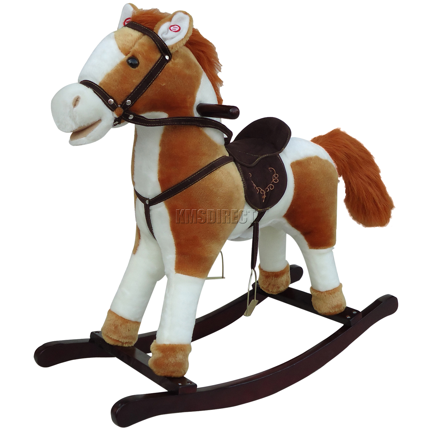 new children rocking horse with sound great traditional toy small  - newchildrenrockinghorsewithsoundgreattraditional