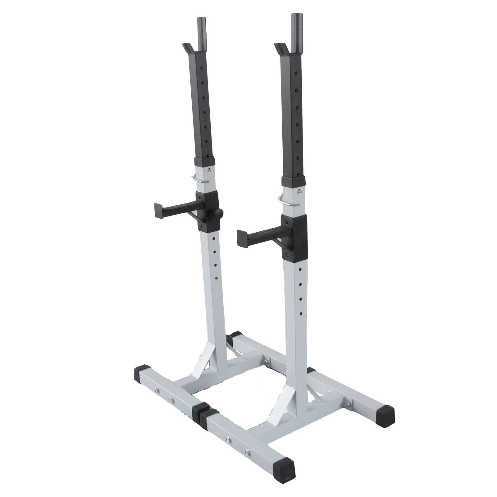 Fitness Adjustable Gym Squat Barbell Power Rack Weight Bench Stand Heavy Duty Ebay