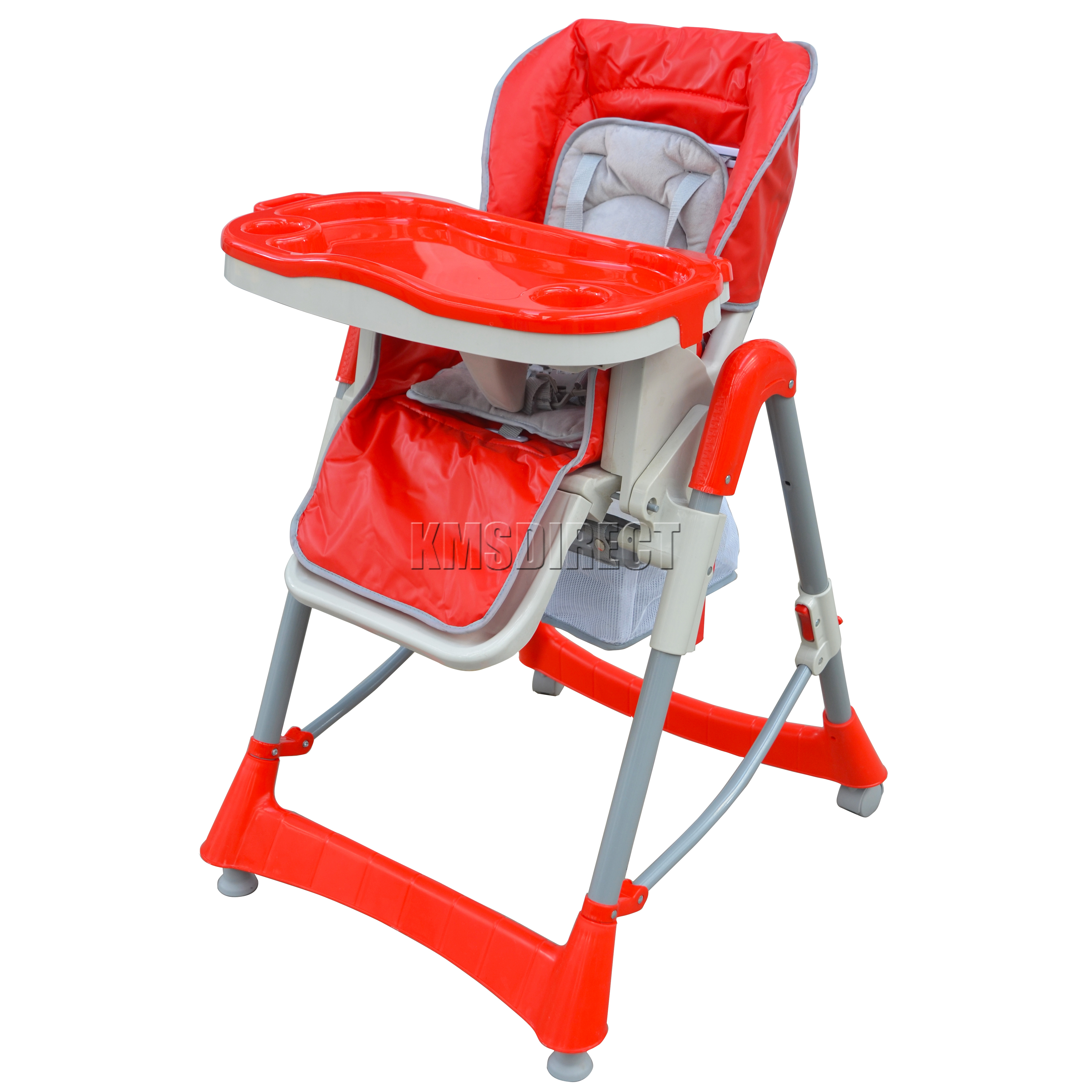 Height Adjustable Baby High Chair Recline Highchair Feeding Seat