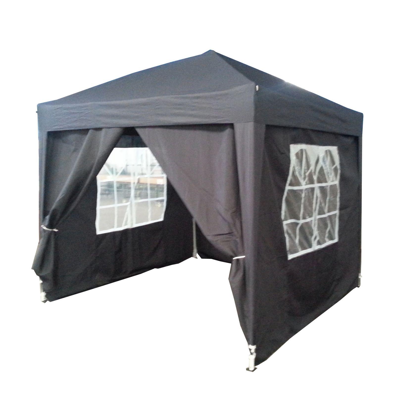 wasserfestes aufklappbares aussichtspavillon 2 5 x partyzelt markise ebay. Black Bedroom Furniture Sets. Home Design Ideas