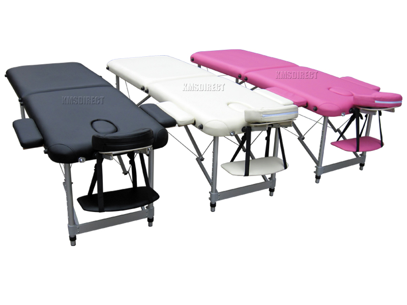 Lightweight portable folding alu massage table beauty tattoo therapy couch bed - Portable massage table reviews ...