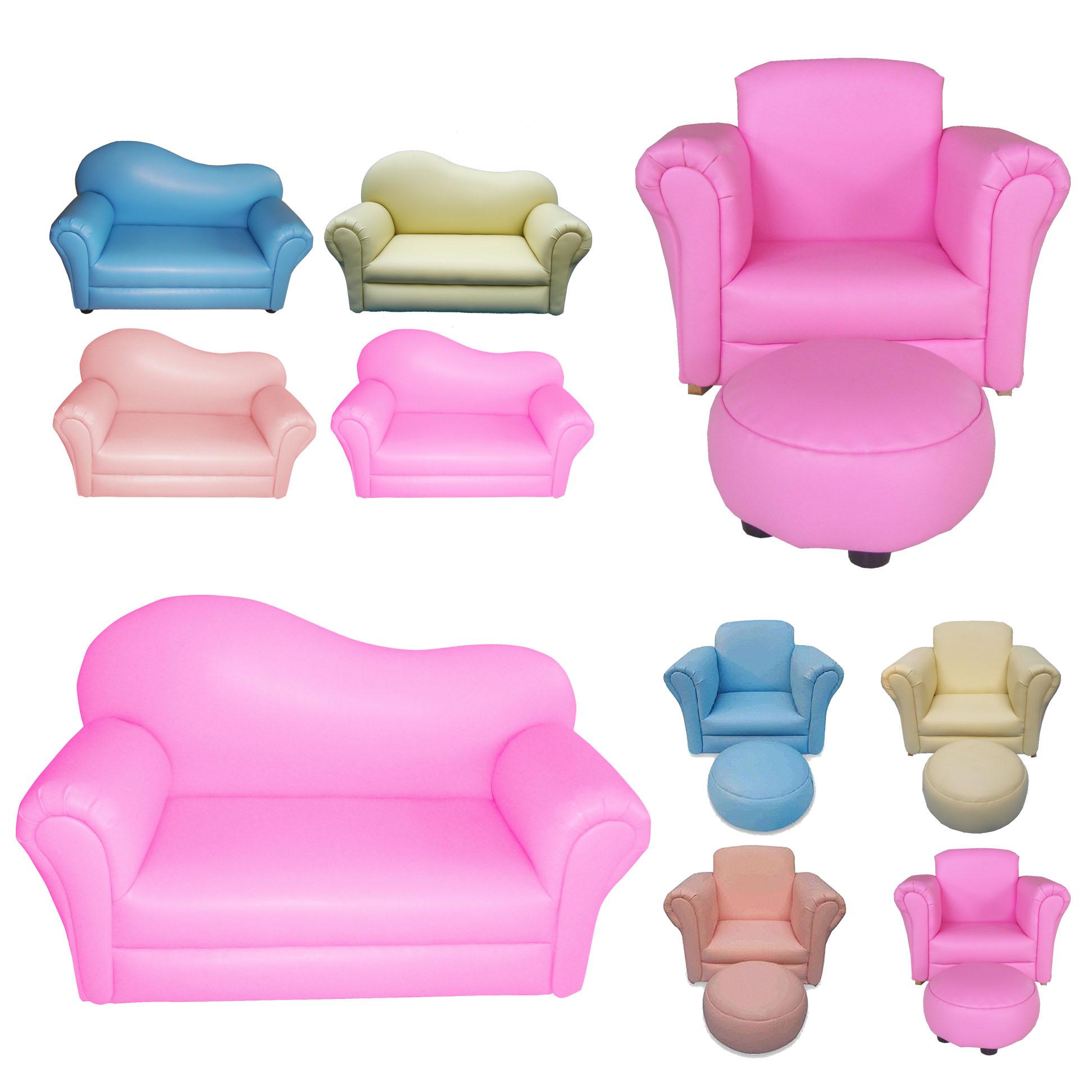Children Kids Child Sofa Furniture Armchair Couch Seat On