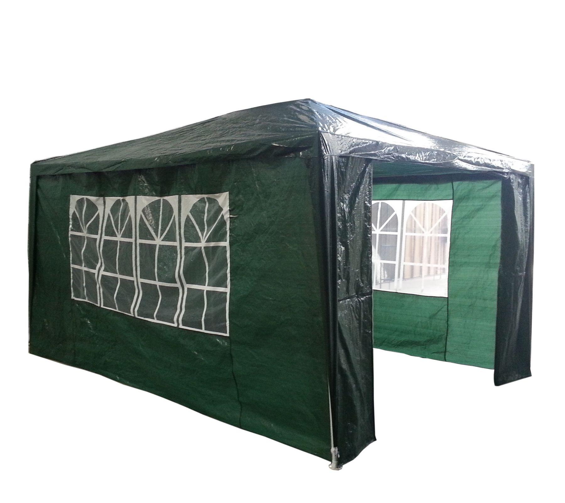 Gartenzelt Partyzelt Wasserdicht Gr N 3m X 4m Mit Markise