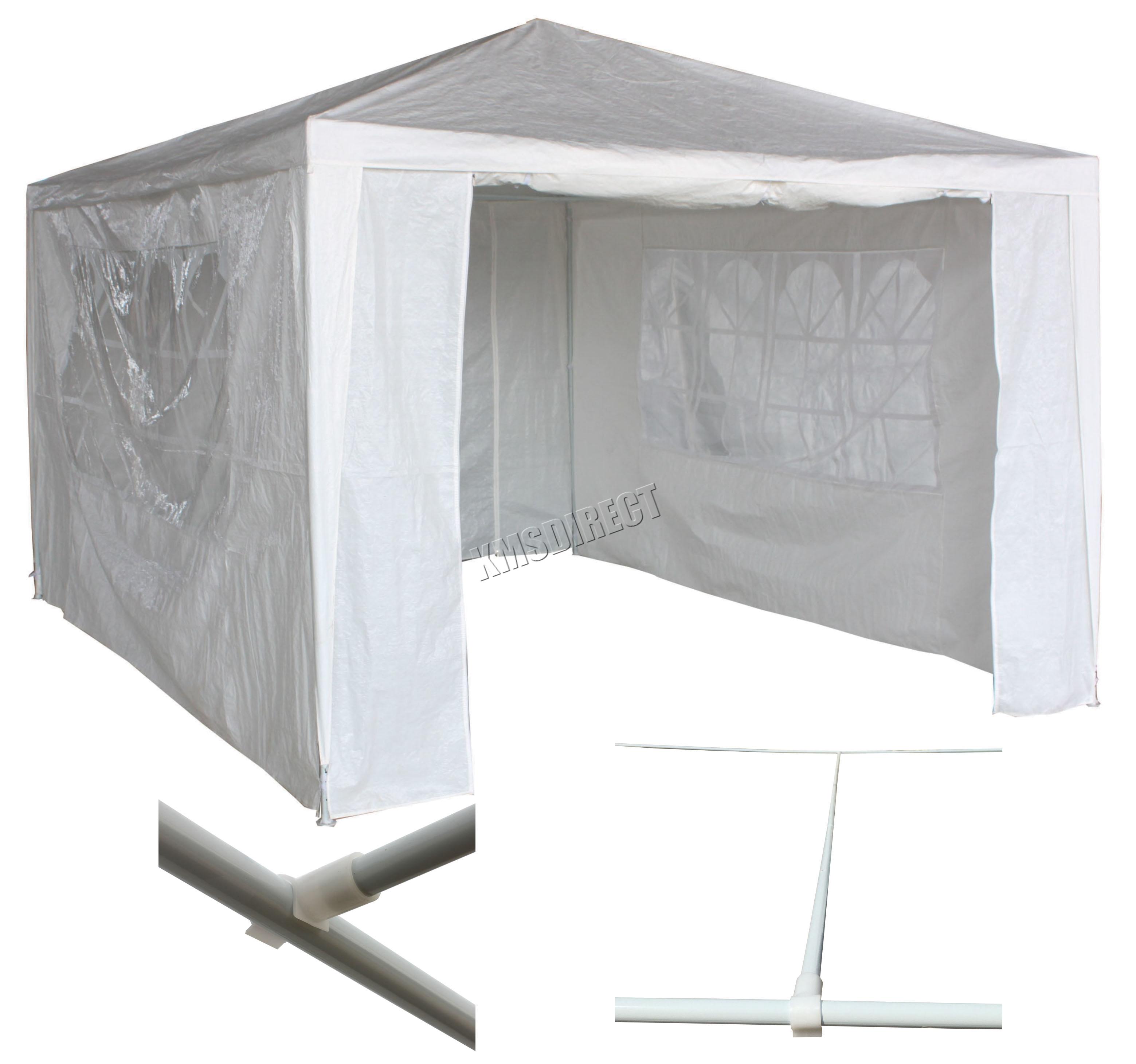 Tanche blanc 3m x 4m jardin d 39 ext rieur tente chapiteau for Cuisine 3m x 4m
