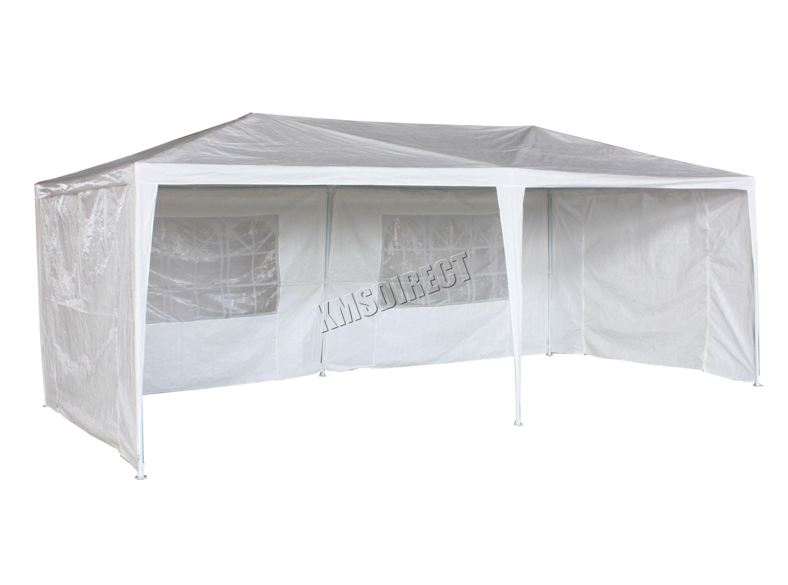3m x 6m 120g wasserdicht outdoor pe garten gazebo pavillon berdachung partyzelt neu ebay. Black Bedroom Furniture Sets. Home Design Ideas