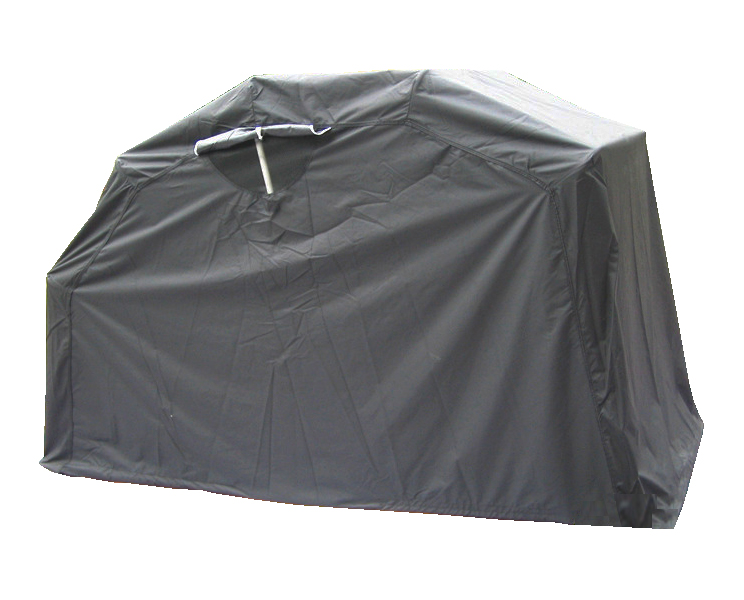 New motor bike folding cover storage waterproof outdoor tent garage medium black ebay - Motorcycle foldable garage tent cover ...