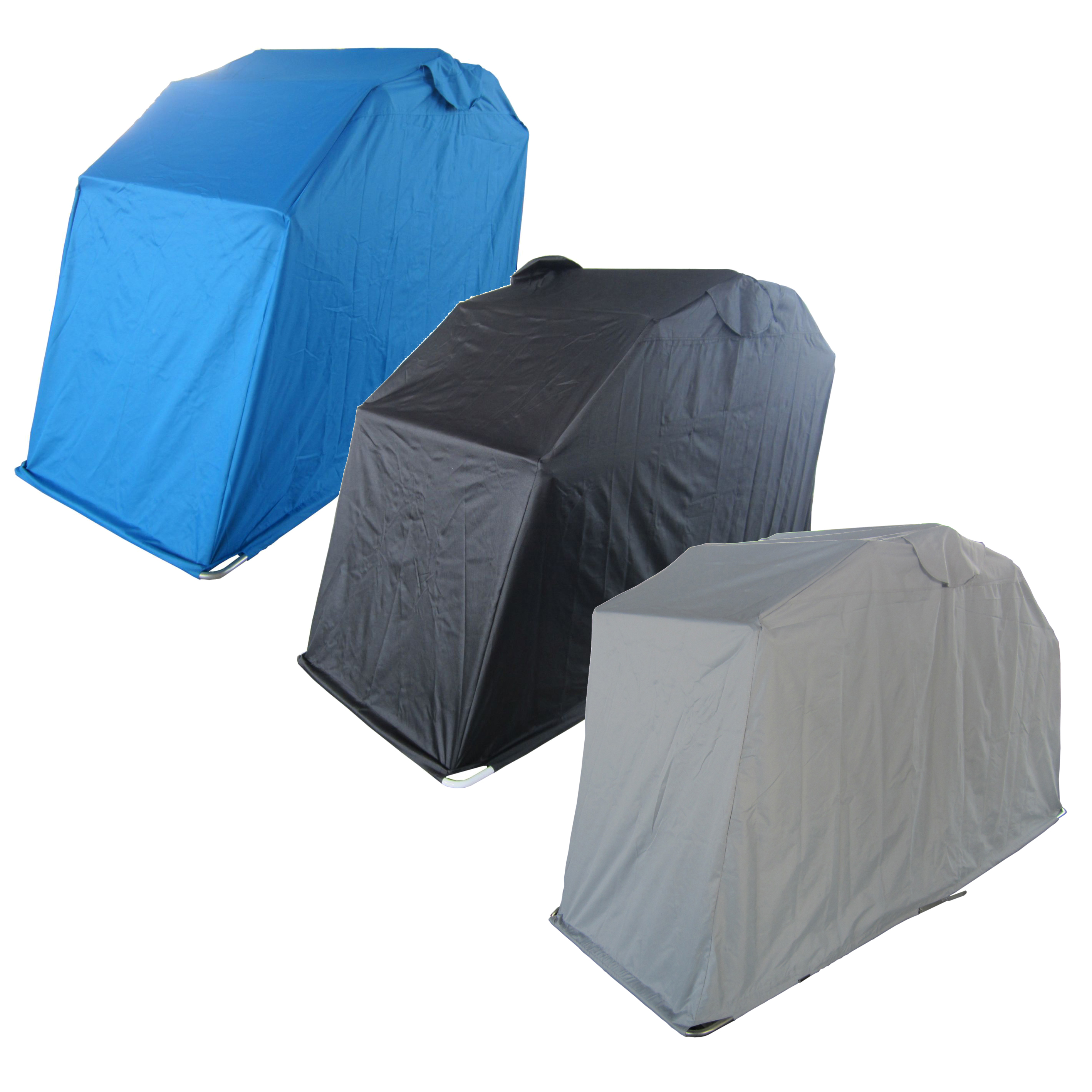 Waterproof motor bike folding cover storage shed shelter - Motorcycle foldable garage tent cover ...
